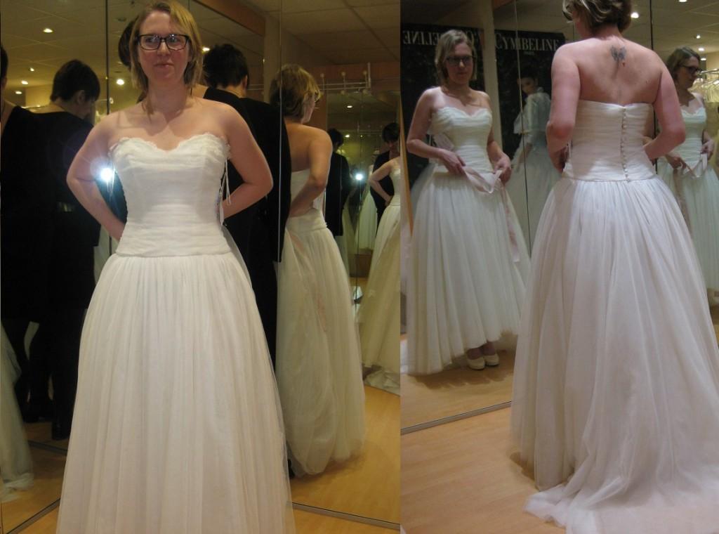 Essayages de robes de mariée Cymbeline