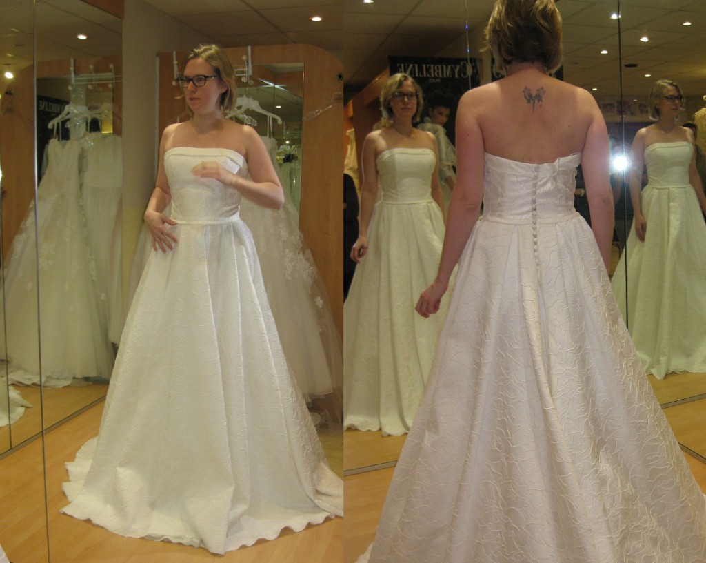 Essayages de robes de mariée Lambert Créations