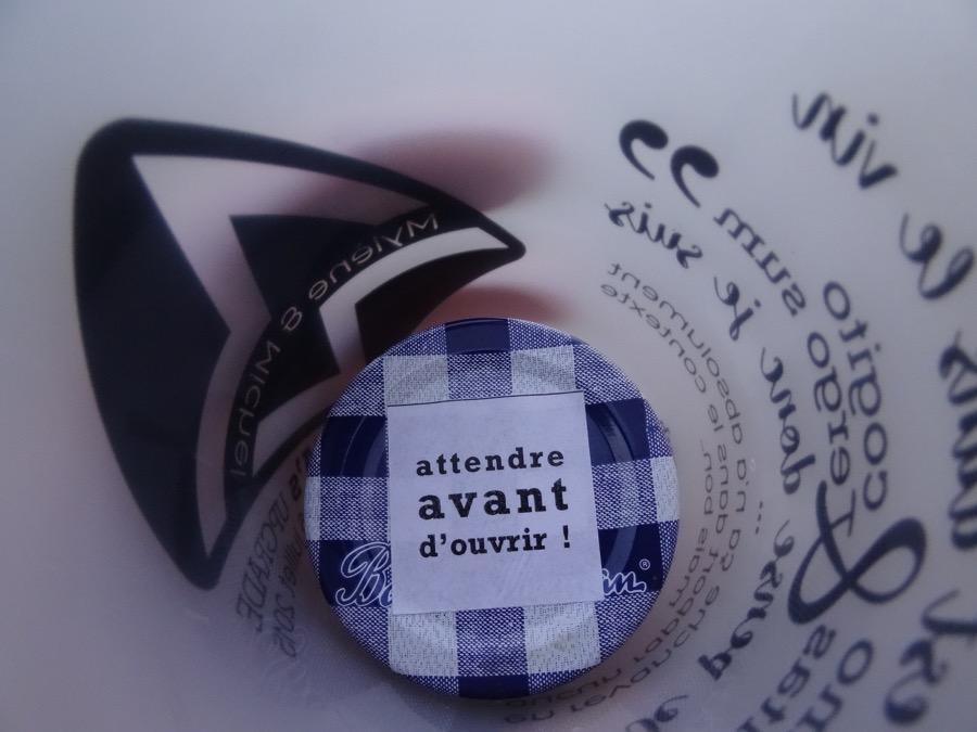 Gobelet personnalisé pour notre cérémonie laïque // Photo : Pierre Grasset