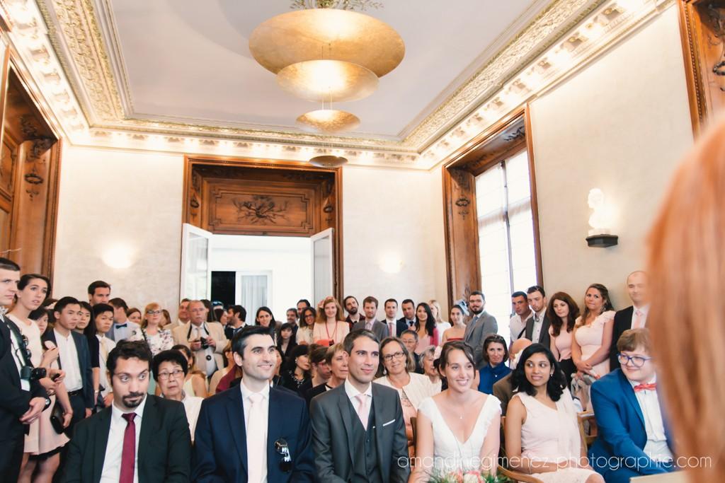 Déroulé de la cérémonie civile // Photo : Amandine Gimenez