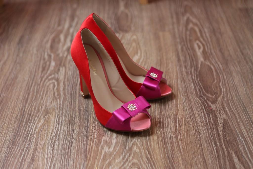 Ultimes préparatifs le jour J : mes chaussures personnalisées