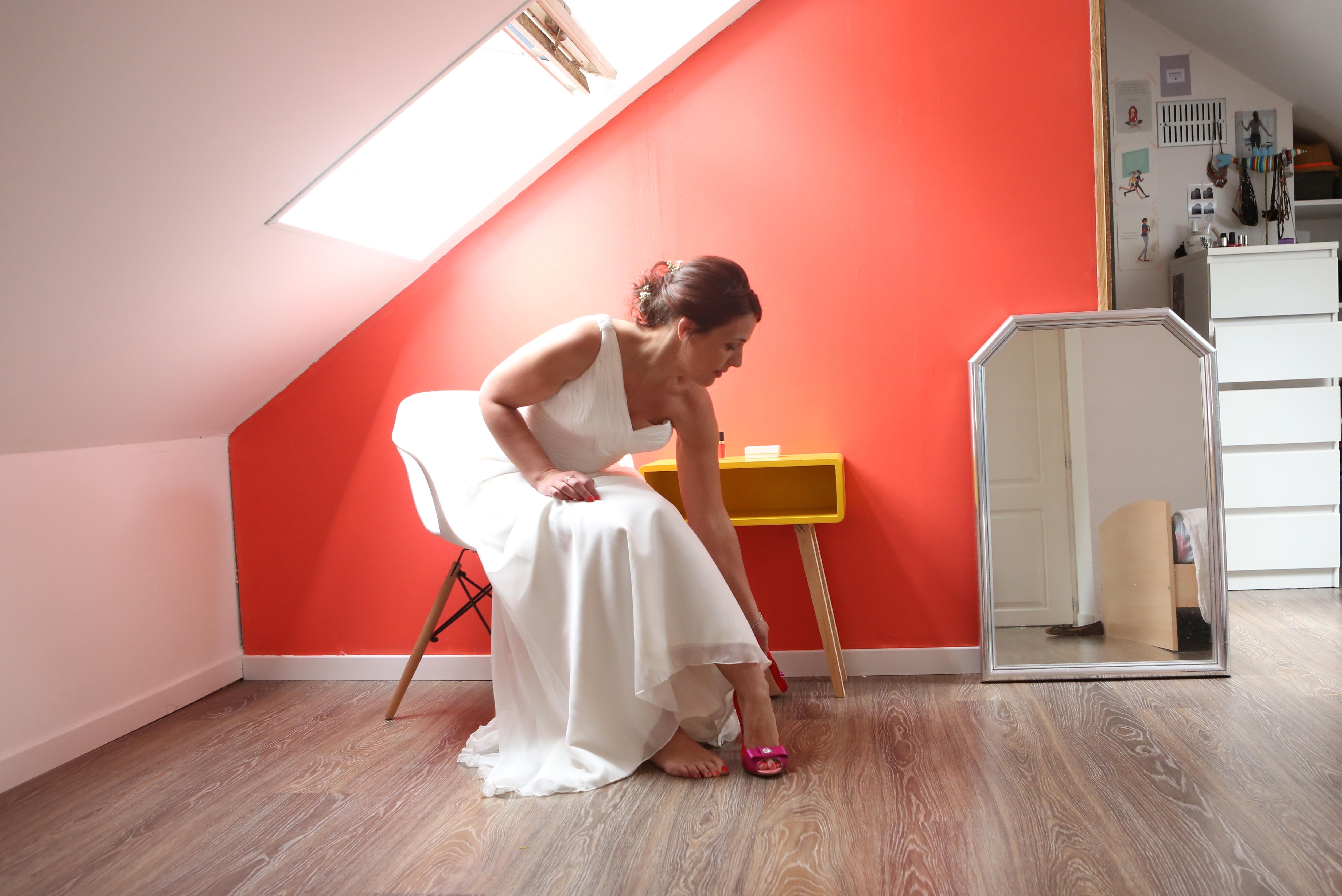 Mon mariage pastel et doré à la maison : la fin des préparatifs