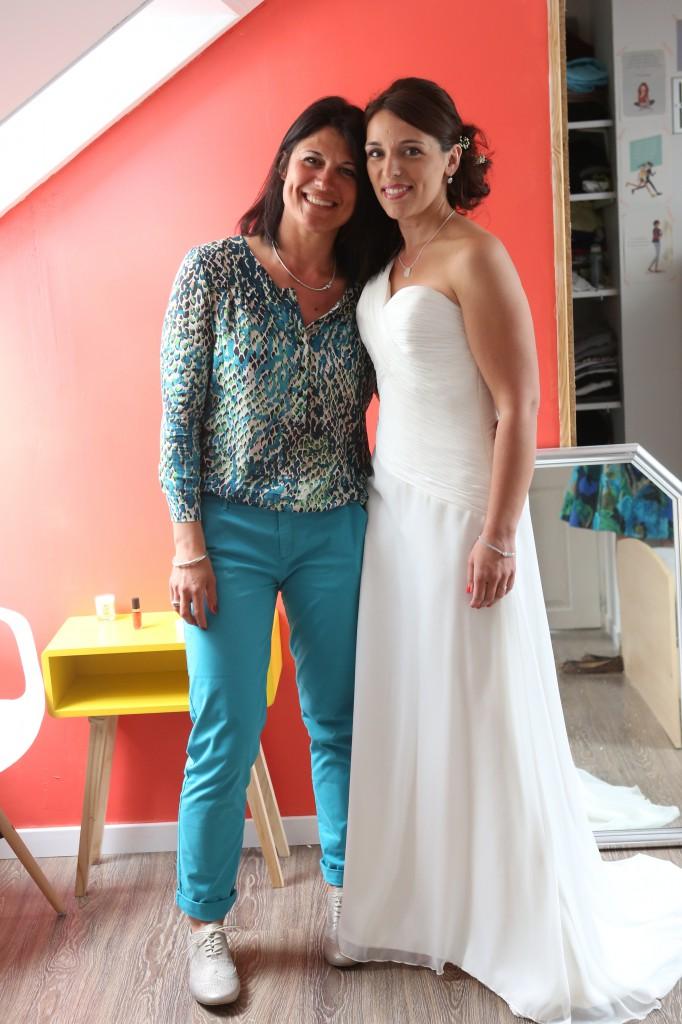 Ultimes préparatifs le jour J : la mariée se prépare