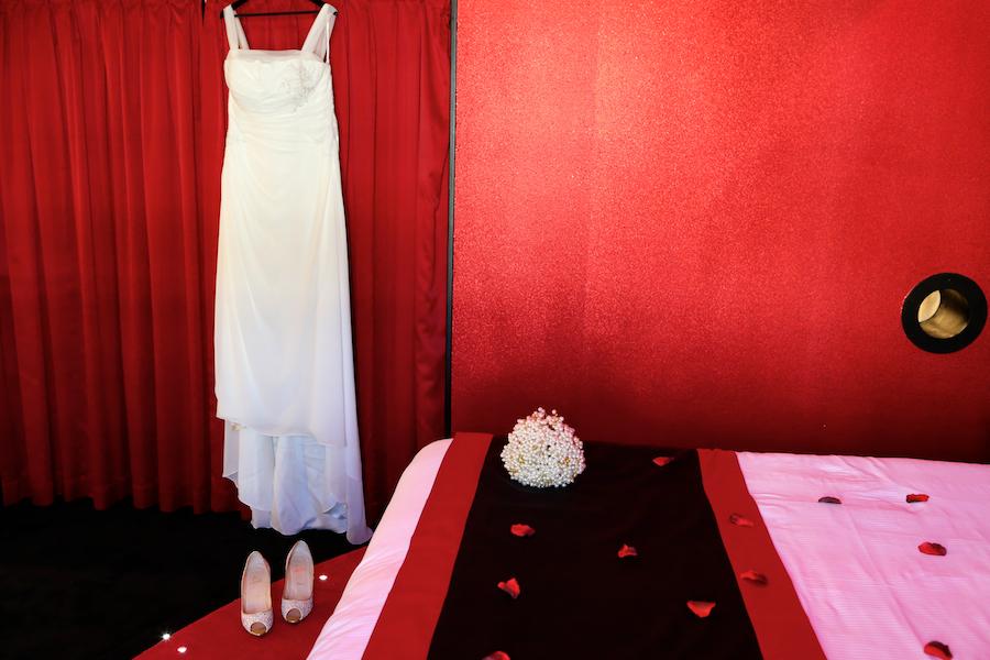 Mise en beauté et préparatifs de la mariée // Photo : Cynthia Cappe