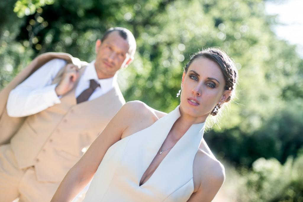 Le mariage champêtre de Kathleen dans un ancien moulin à huile - Photo Cedric Moulard (11)