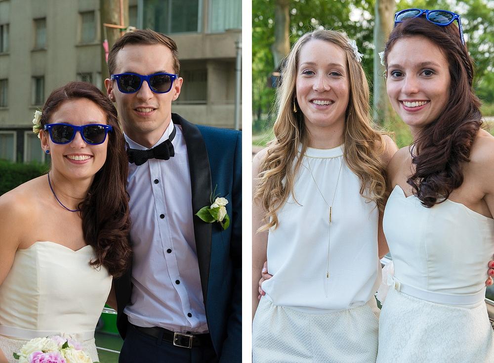 Le mariage civil de Charlène en bleu (12)