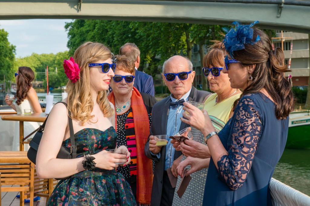 Le mariage civil de Charlène en bleu (13)