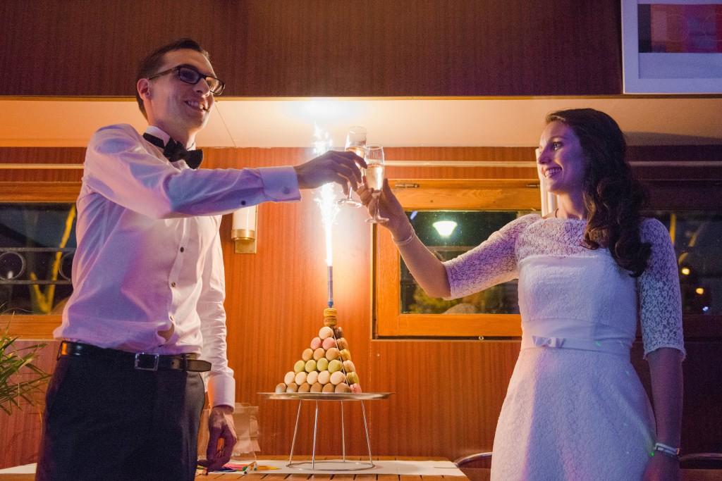 Le mariage civil de Charlène en bleu (15)