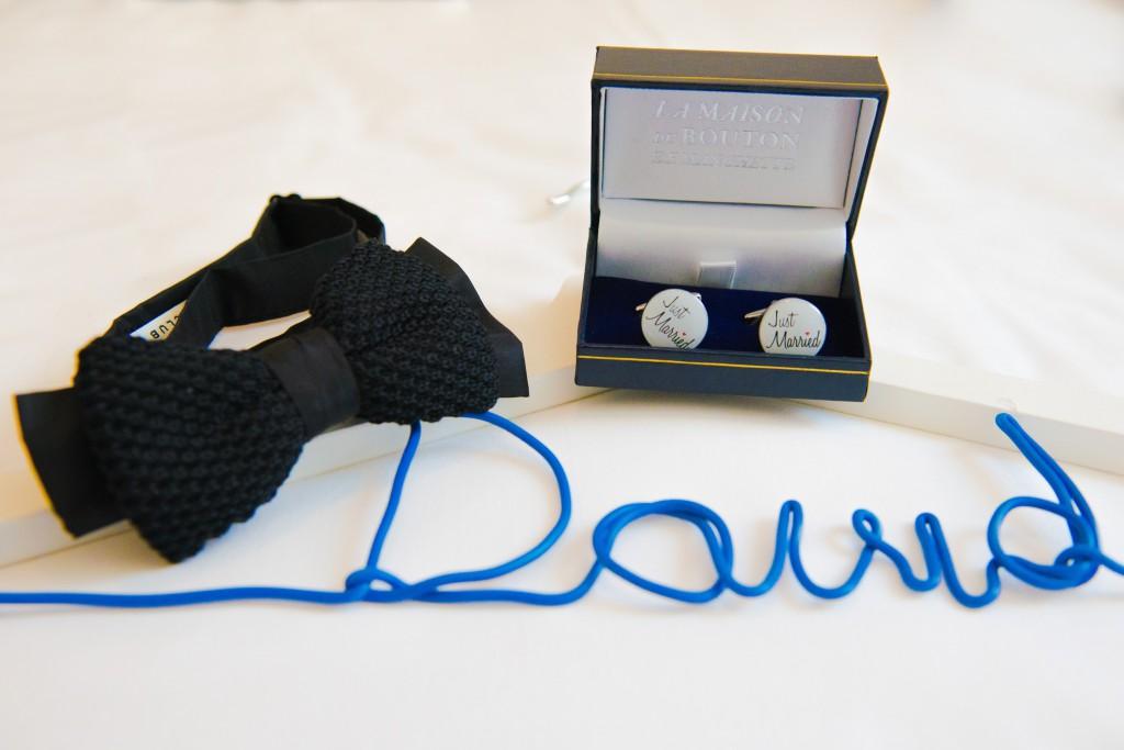 Le mariage civil de Charlène en bleu (4)