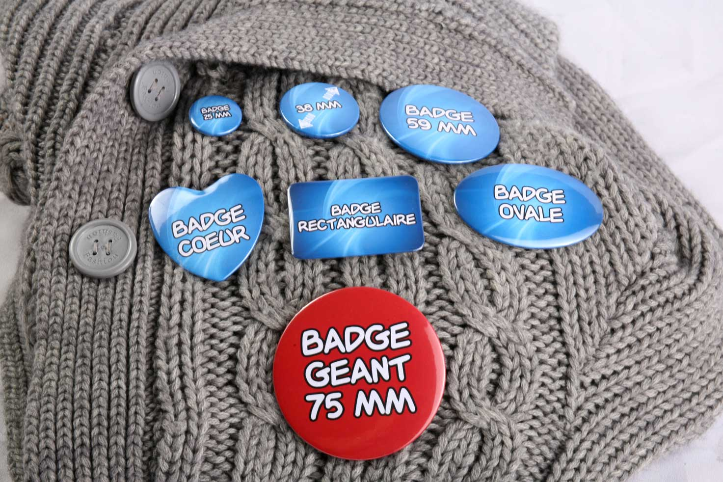 Badges à Gogo