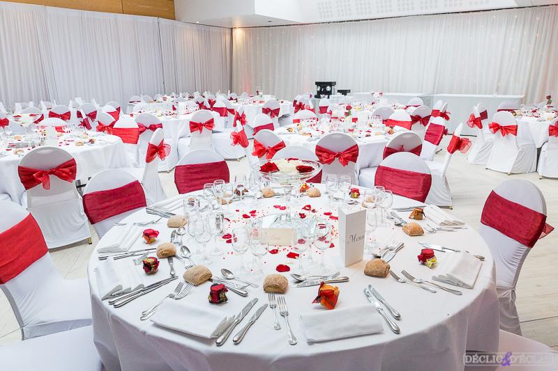 Salle De Mariage Rouge Et Blanc