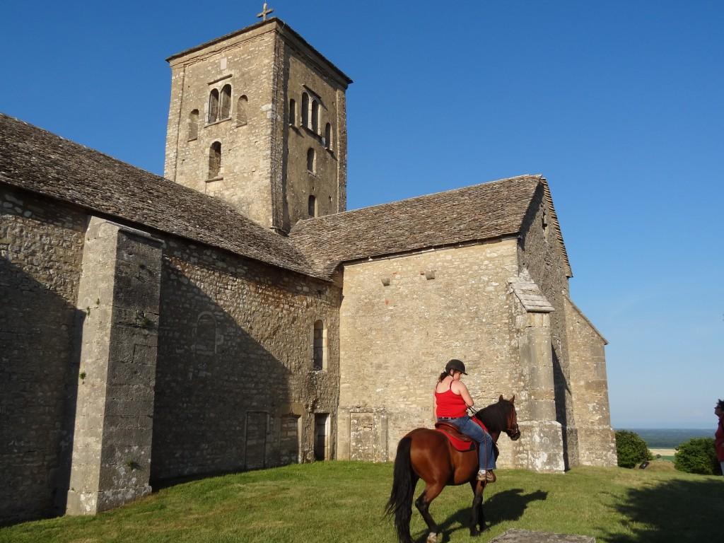 L'église romane dans laquelle nous nous marirons