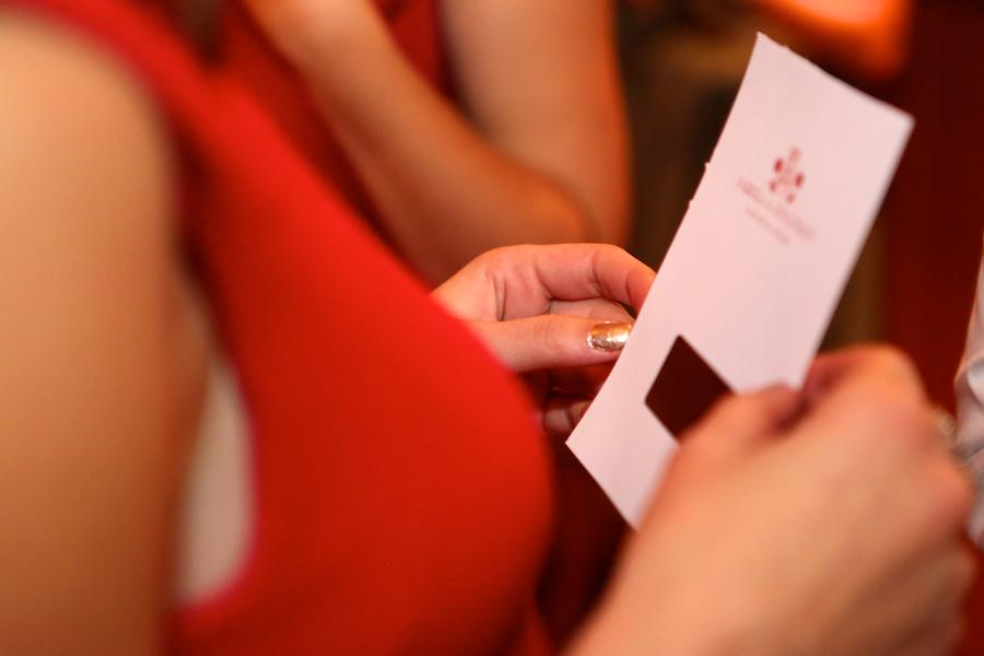 Les tickets à gratter // Photo : Cynthia Cappe