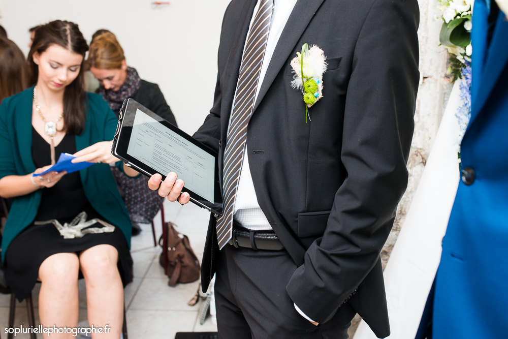 tablette pour maitre de cérémonie