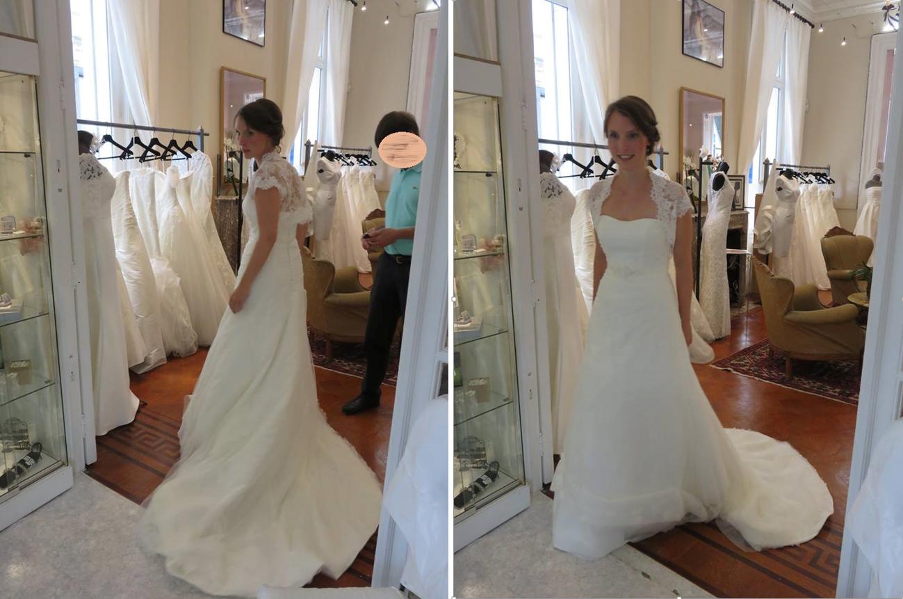 Et un jour, je n'ai pas aimé les essayages de robes de mariée – Partie 2