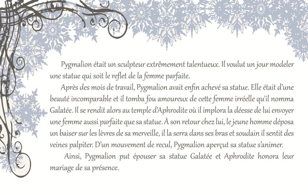 Plan de table pour un mariage sur le thème de l'hiver