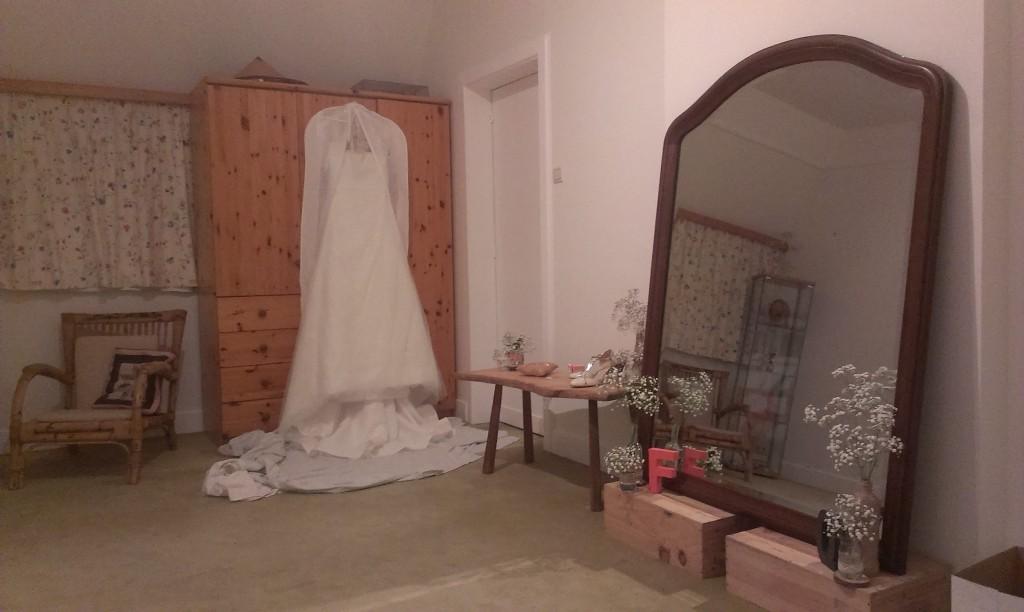 Ma chambre la veille du jour J !