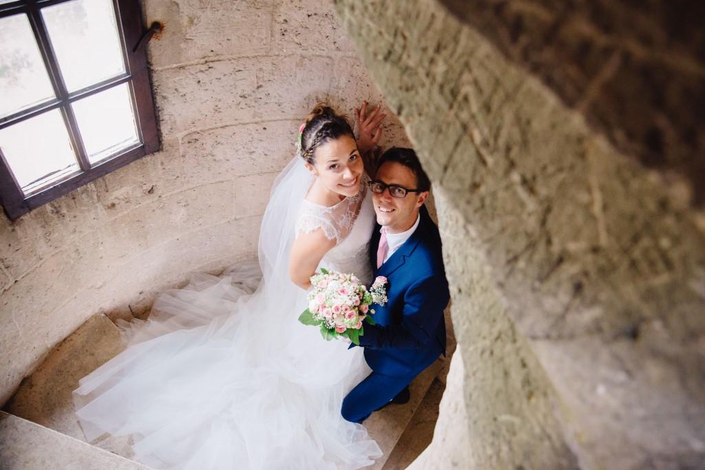 Le mariage en rose et champêtre d'Hélène dans un joli corps de ferme en Picardie - Photo Jérôme Lartisien (7)