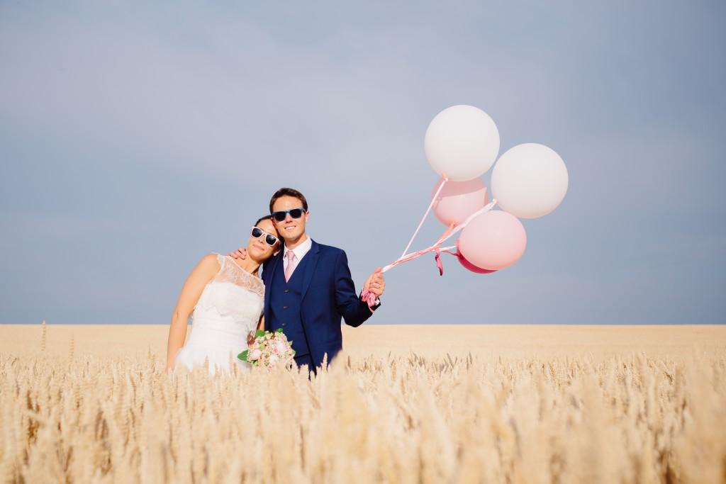 Le mariage en rose et champêtre d'Hélène dans un joli corps de ferme en Picardie - Photo Jérôme Lartisien (9)