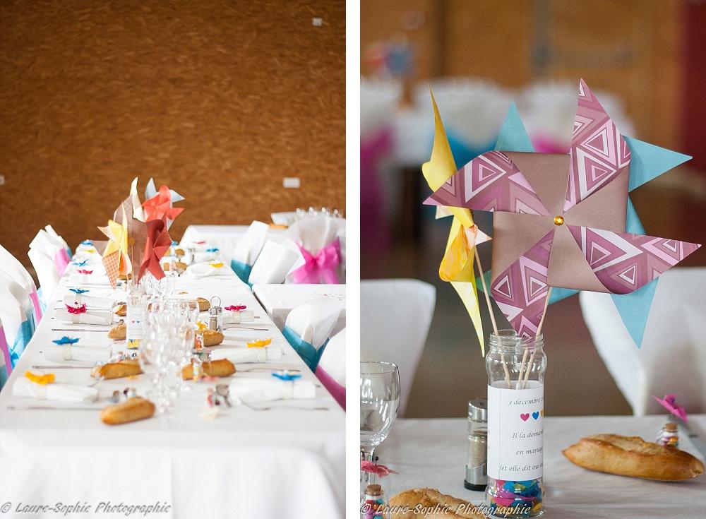 Le mariage fait maison de Delphine, sans thème et plein de couleurs et d'originalité - Photo Laure Sophie Photographie (13)