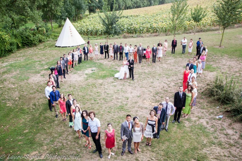 Le mariage fait maison de Delphine, sans thème et plein de couleurs et d'originalité - Photo Laure Sophie Photographie (14)