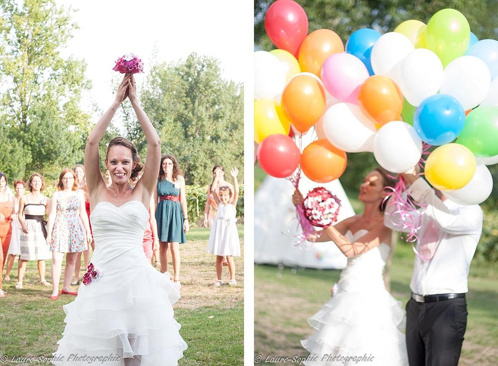 Le mariage fait maison de Delphine, sans thème et plein de couleurs et d'originalité - Photo Laure Sophie Photographie (15)
