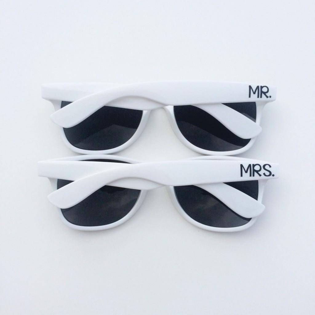 Lunettes de soleil M. et Mme