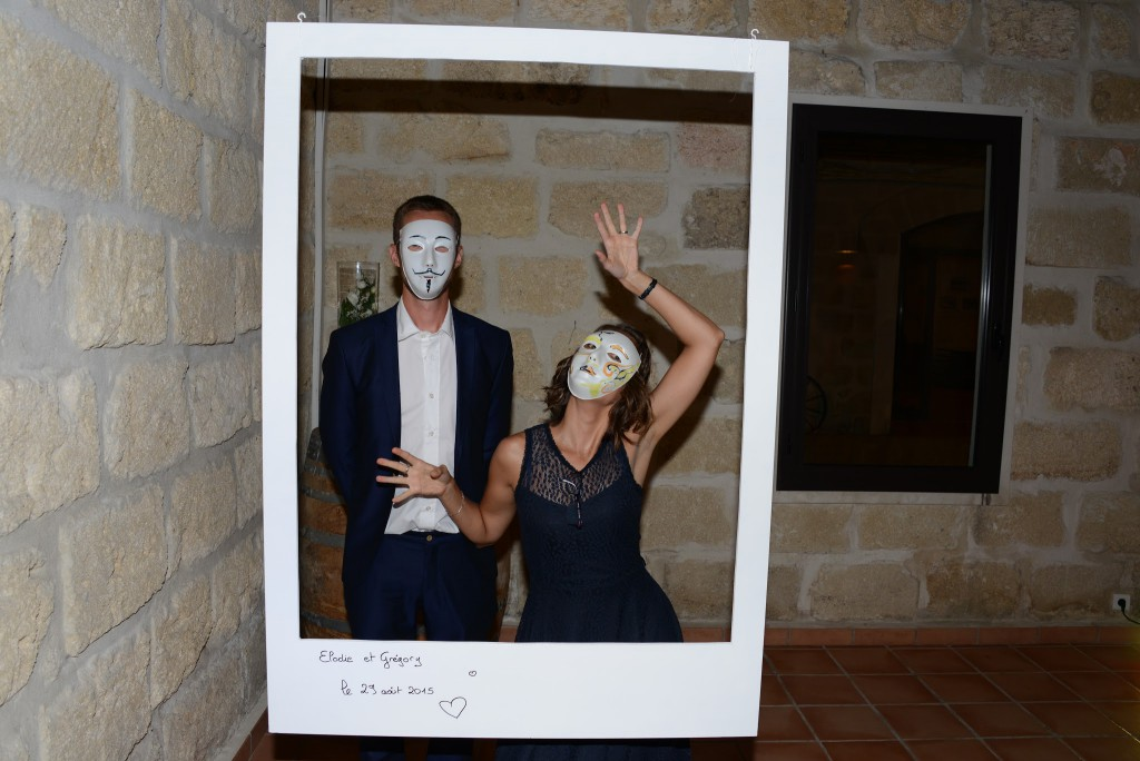 photobooth masques