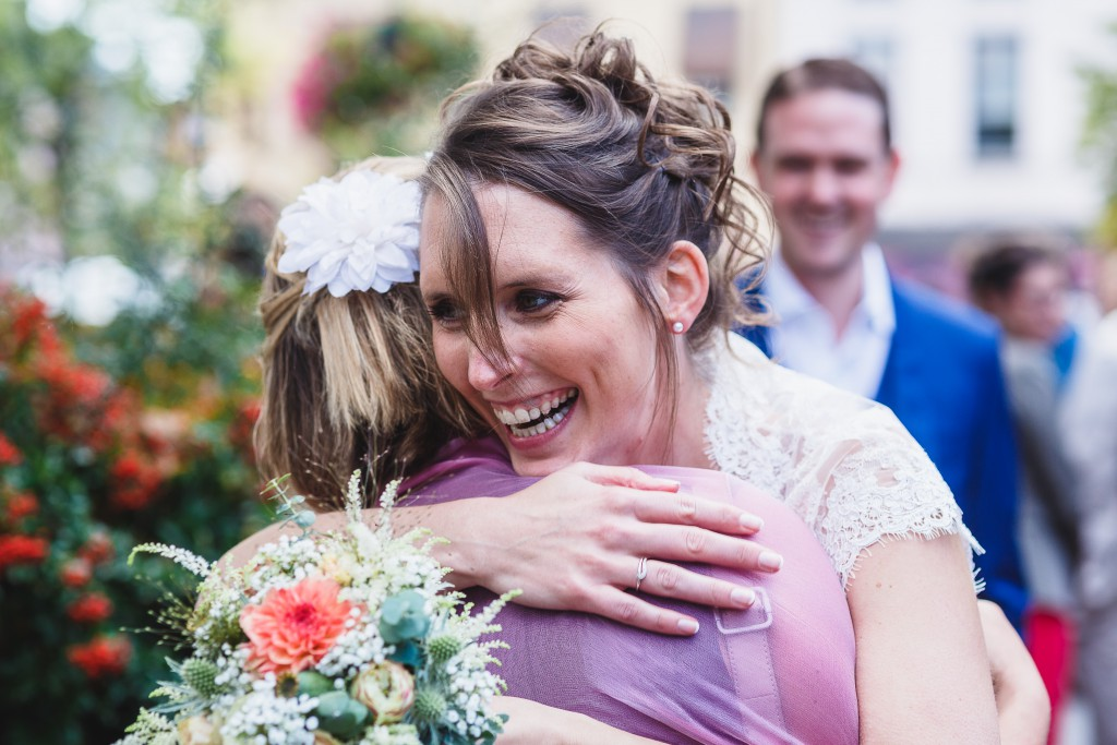 La sortie des mariés // Photo : Twane Photographe