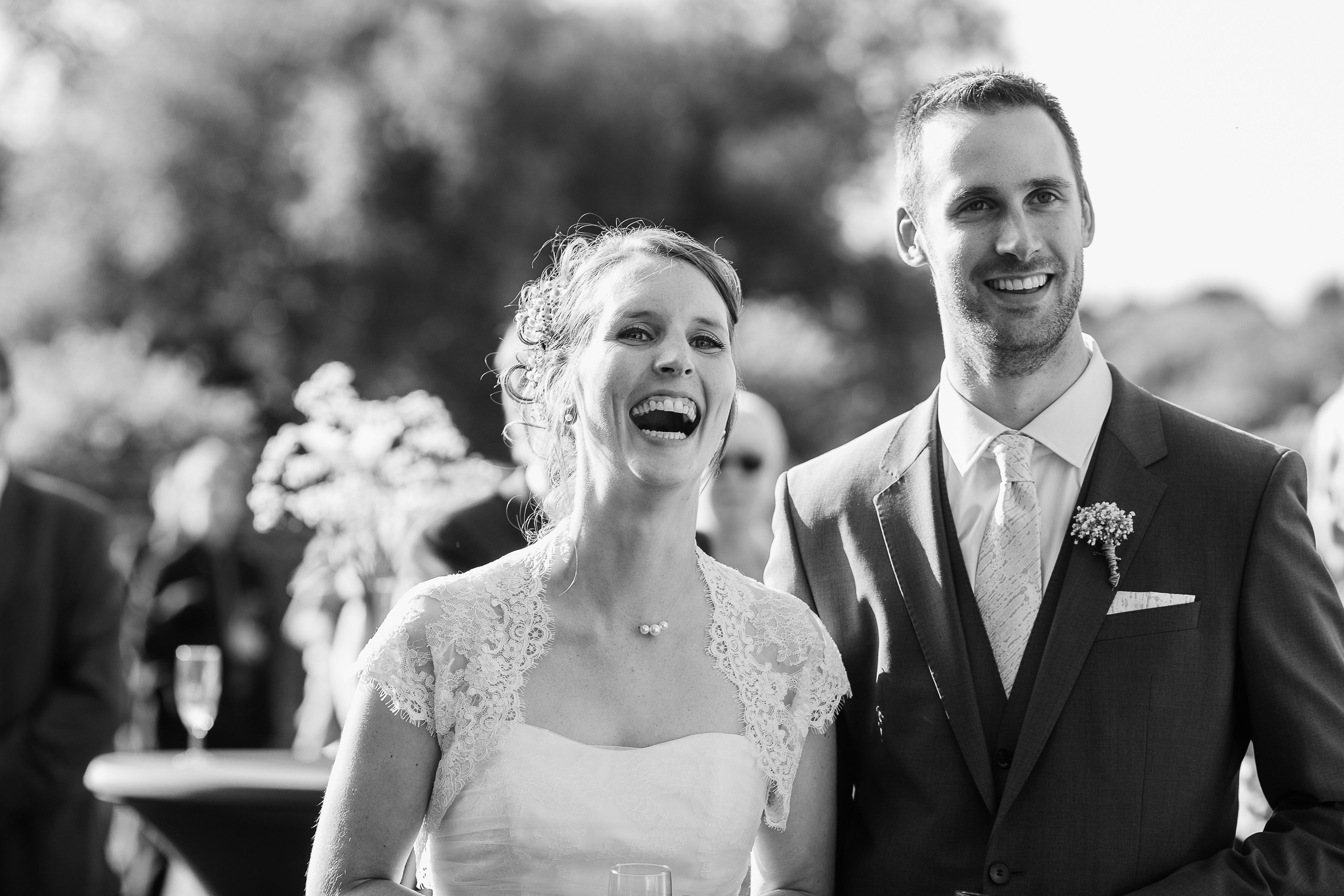 Mon mariage plein d'humour et de tendresse : un vin d'honneur plein de surprises