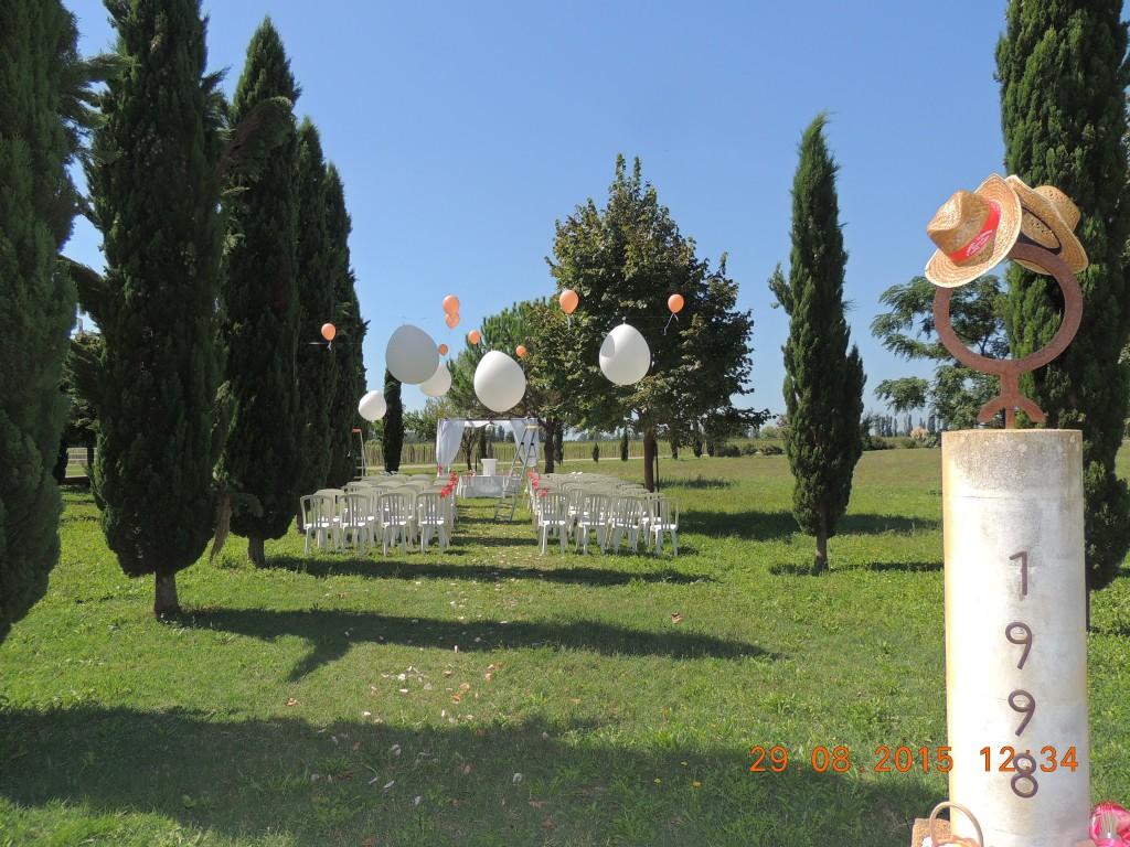 cérémonie laïque extérieure