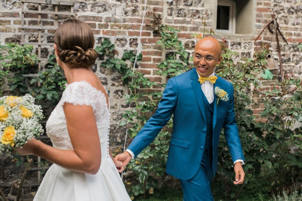 Découverte des mariés ! // Photo : Trentième Étage