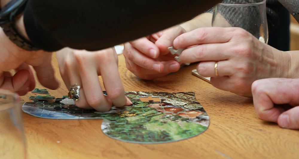Un puzzle pour annoner notre mariage !