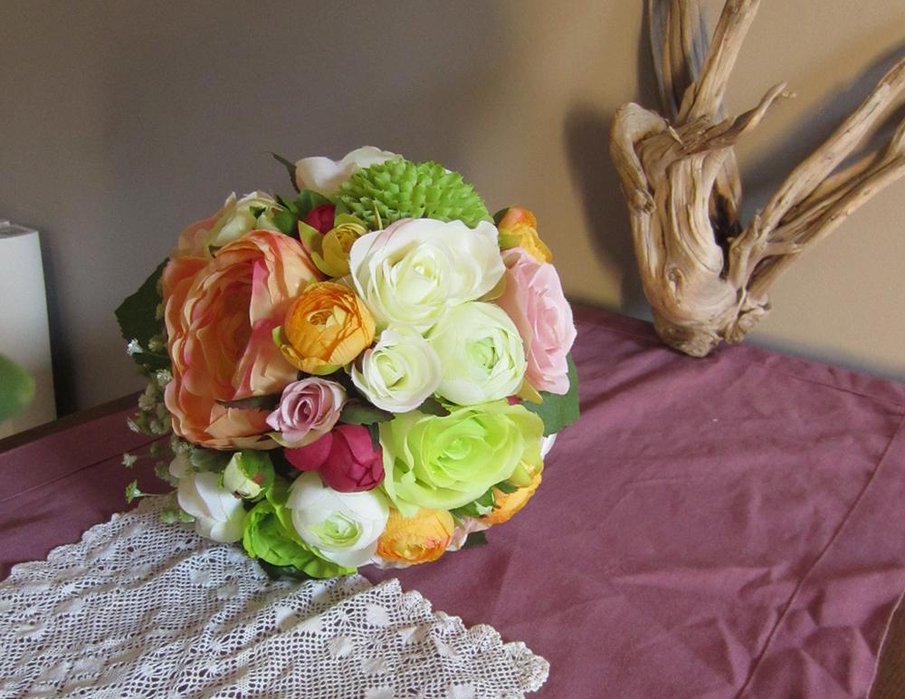 Mon bouquet de fleurs artificielles DIY !