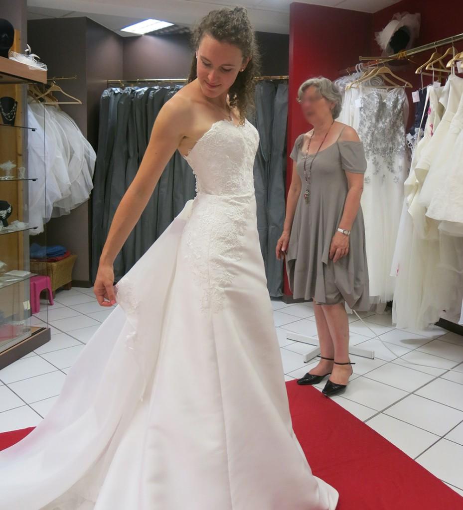 Aperçu de mes essayages de robes de mariée