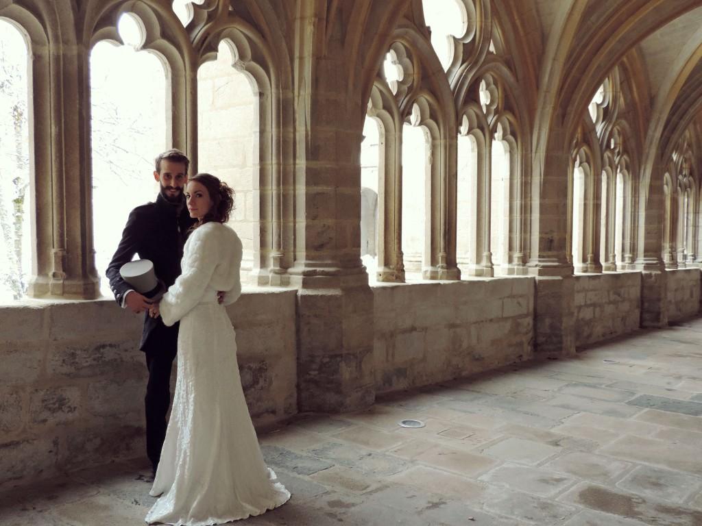 Le mariage d'hiver de Victoria, à petit budget, do it yourself et végétarien (3)