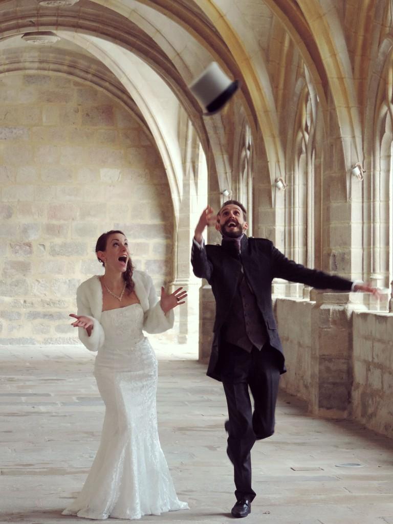 Le mariage d'hiver de Victoria, à petit budget, do it yourself et végétarien (4)