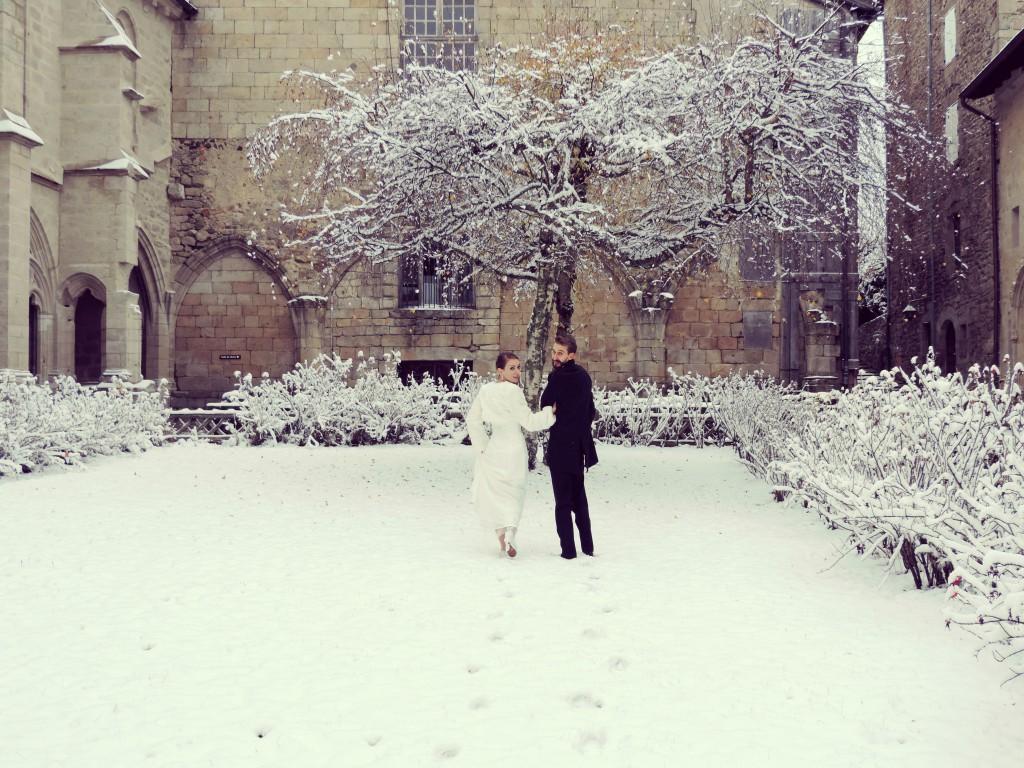 Le mariage d'hiver de Victoria, à petit budget, do it yourself et végétarien (6)