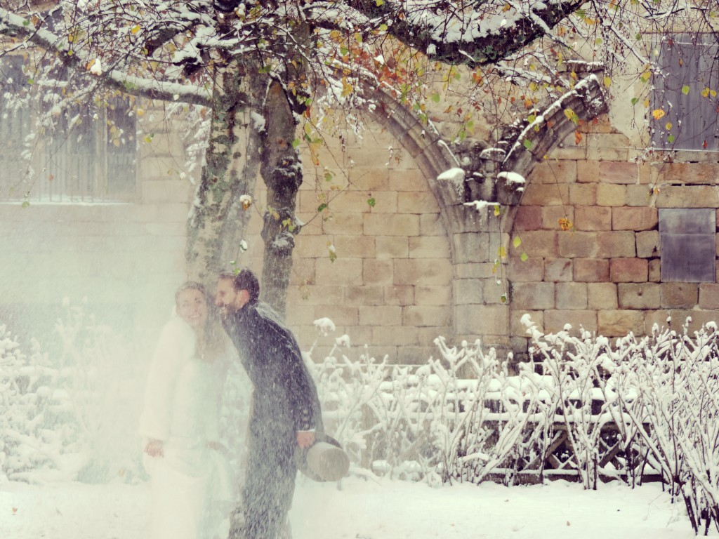 Le mariage d'hiver de Victoria, à petit budget, do it yourself et végétarien (7)