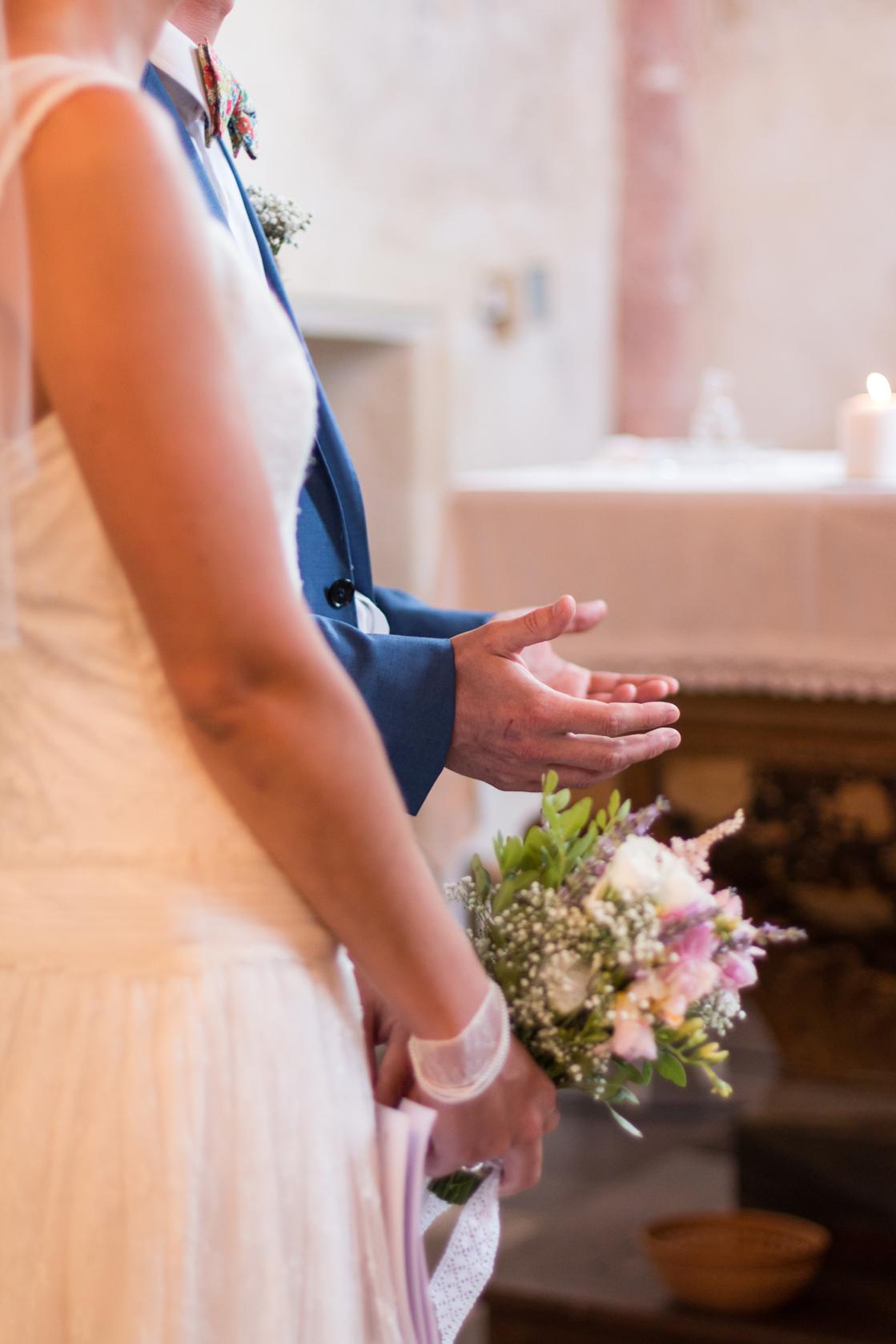 Le mariage religieux, champêtre et festif de Léopoldine (13)
