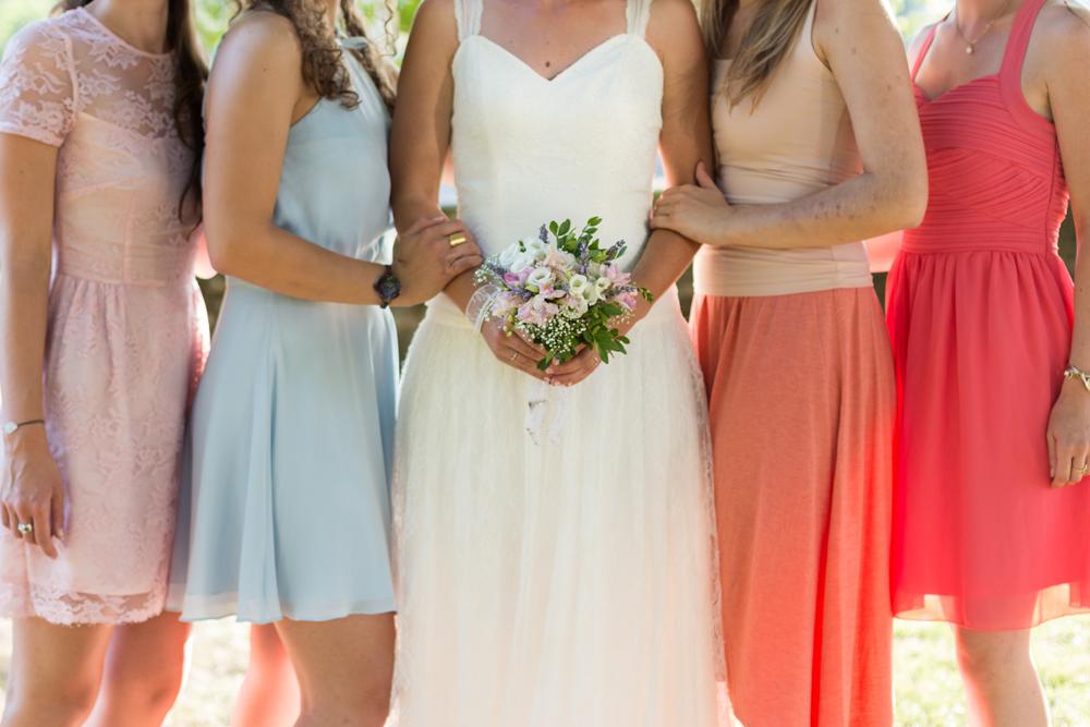 Le mariage religieux, champêtre et festif de Léopoldine