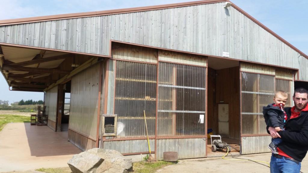 Visite de salle pour notre mariage : corps de ferme en rénovation