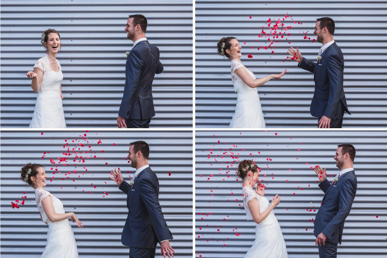 Mon mariage plein d'humour et de tendresse : notre séance photo en amoureux… Le making-of !