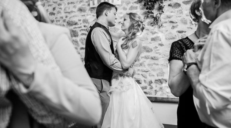 L'ouverture du bal // Photo : Sarah Dawson Photography