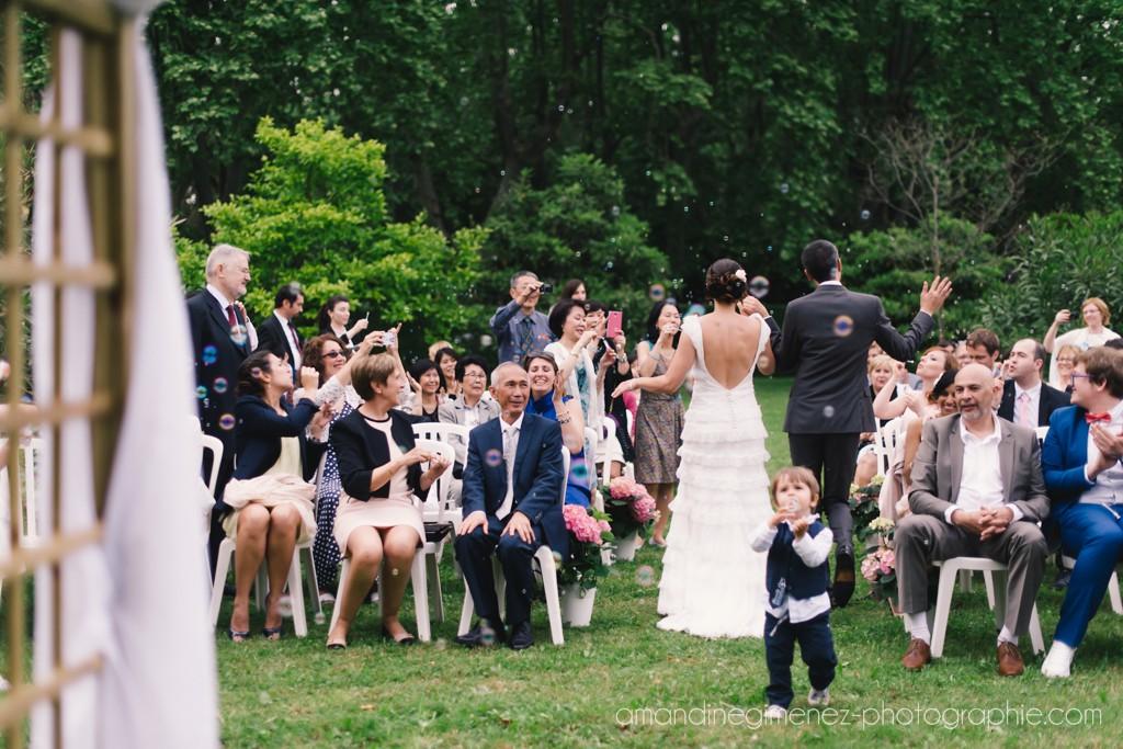 Notre cérémonie laïque : un moment plein d'émotions // Photo : Amandine Gimenez