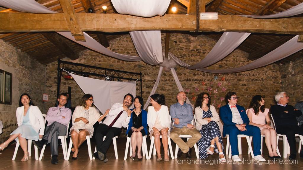 Les animations et les surprises de notre soirée de mariage // Photo : Amandine Gimenez