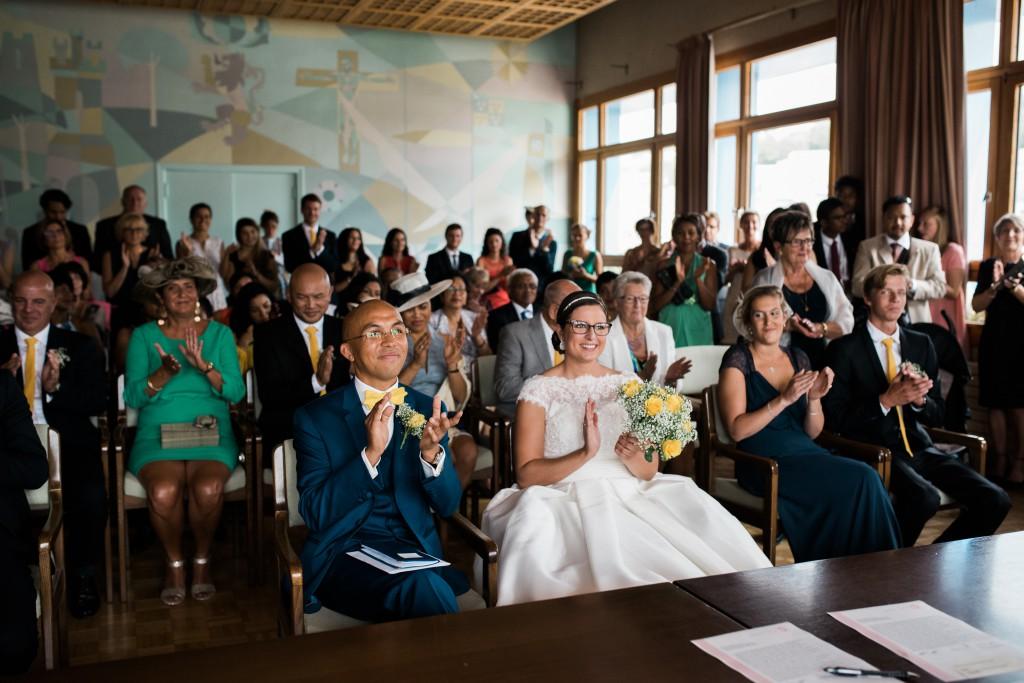 Déroulé de notre cérémonie à la mairie // Photo : Trentième Étage