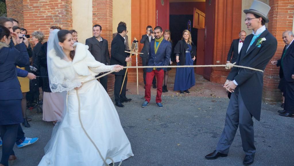 Déroulé de notre cérémonie religieuse : la sortie de l'église