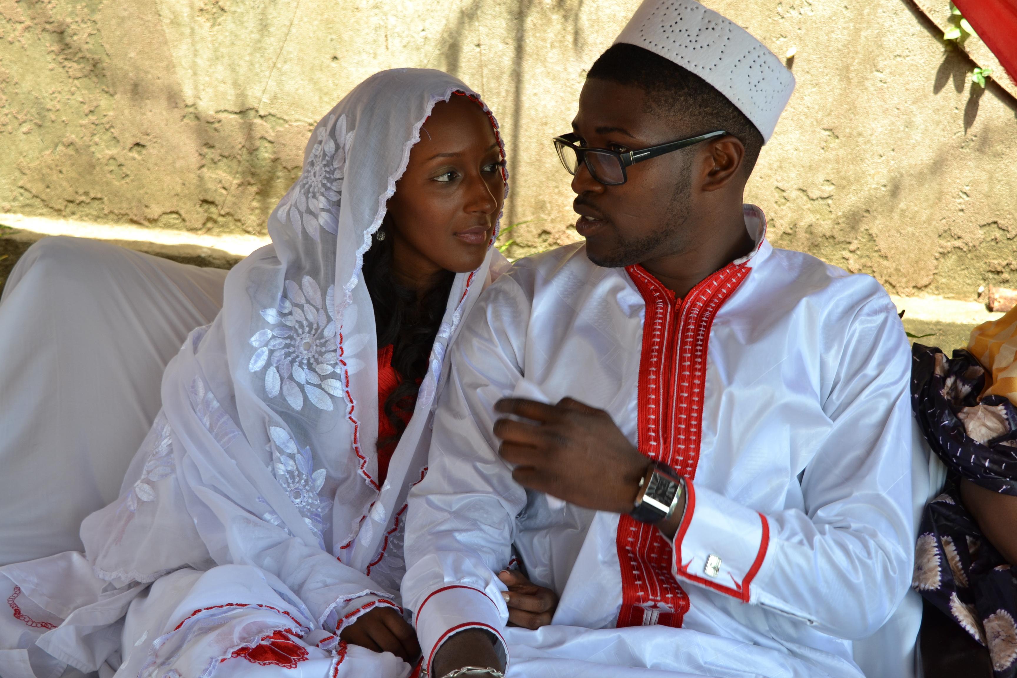 Mon mariage en Guinée : le matin du premier jour de fête