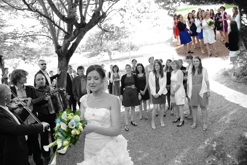 Le mariage en bleu et blanc et à son image de Minette - Photo Azaliya (18)